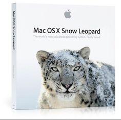 New sealed MAC OSX Snow Leopard 10.6.3 Retail Install DVD MC573Z/A #Apple