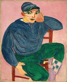Young Sailor II (1906) by Henri Matisse (1869–1954), French  (Metropolitan Museum of Art)
