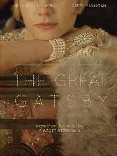 The Great Gatsby.   Leonardo DiCaprio & Carey Mulligan <3  Love this movie poster