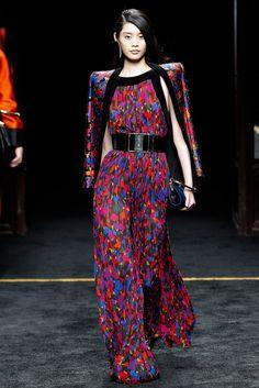 Balmain Fall 2015 Ready-to-Wear Fashion Show - Ming Xi (Elite)