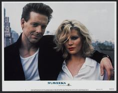 Mickey Rourke and Kim Bassinger (1986)