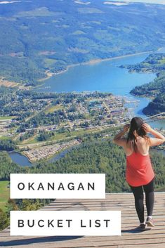 The Okanagan is a hub of wonderful outdoor adventures. We've gathered our favourite destinations for the ultimate Okanagan bucket list that'll keep you exploring all year. Explore the many hikes of Kelowna, Penticton, and Osoyoos, then stand under the bea Alberta Canada, The Places Youll Go, Places To See, Things To Do In Kelowna, Vancouver, Places To Travel, Travel Destinations, Voyage Canada, Montreal