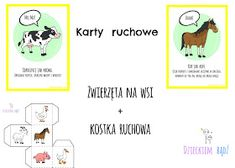 Dzieckiem bądź: Zwierzęta na wsi - karty ruchowe Crafts For Kids, Education, Comics, Blog, Speech Language Therapy, Therapy, Kids Arts And Crafts, Comic Book, Blogging
