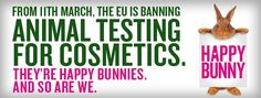 Rumo a um mundo melhor! - Ontem, num rumo a um mundo melhor, fica uma data histórica...os cosméticos testados em animais deixam de poder ser comercializados na UE.  A Oriflame, que por uma questão de princípio nunca fez testes em animais, celeb