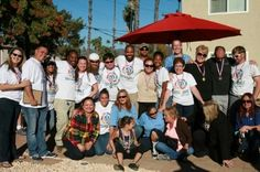 Sustainable Heroes Team Members with Interfaith Community Services partners at the Astor Street Gardens project in Escondido, California. Escondido California, Community Service, Garden S, Aster, Garden Projects, Sustainability, Street, Roads, Sustainable Development