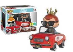 Freddy Funko in Red Buggy Pop Ride by Funko, 2016 San Diego Comic Con Funko exclusive, LE 500 pieces