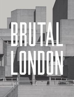A photographic exploration of the post-war modernist architecture of London.  Scroll down for more info.