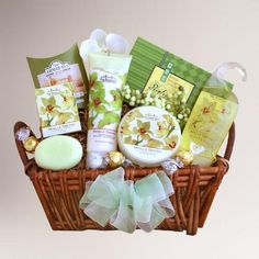 Perfect gift idea for Mother's Day- Check out Elegant Orchid Spa Sensation Gift Basket from @worldmarket  >> #WorldMarket Gift Giving, Gift Ideas, #MyAmazingMom