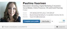 SOSIAALINEN MEDIA: Löydät CV:ni myös LinkedInistä! fi.linkedin.com/...