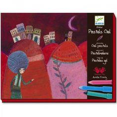 Djeco Workshop - Aurelia's Oil Pastel Kai, Mother Daughter Art, Workshop, Arts And Crafts, Pastel, Christmas Ornaments, Holiday Decor, Boys, Girls