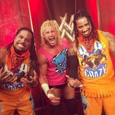 Dolph Ziggler & The Usos