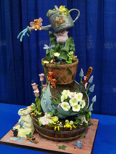 gardening cake | by Susan Carberry | Vicky in Bath | Flickr