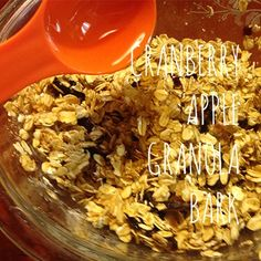 A delicious fall granola recipe!