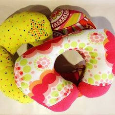 Sew up a DIY Travel Pillow to make the whole trip go a lot smoother.
