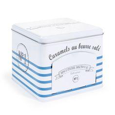 Boîte Marinière caramels blanche