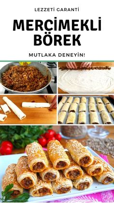 Yeşil Mercimekli Börek Tarifi – Nefis Yemek Tarifleri – Vegan yemek tarifleri – Las recetas más prácticas y fáciles Pastry Recipes, Pie Recipes, Gourmet Recipes, Stars Nails, How To Make Greens, Green Lentils, Lentil Recipes, Manicure E Pedicure, Turkish Recipes