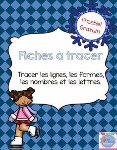 Mme Émilie: Freebie! Cahier de traçage