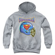 Superman: Helmet Youth Hoodie