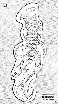 Evil Tattoos, Gamer Tattoos, Skull Tattoos, Body Art Tattoos, Hand Tattoos, Sleeve Tattoos, Tattoo Design Drawings, Pencil Art Drawings, Tattoo Designs