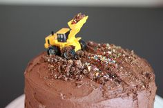 Simple truck cake for my two year old.