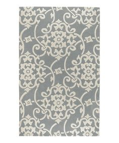 Look what I found on #zulily! Robin's Egg Blue Cosmopolitan Rug by Surya #zulilyfinds