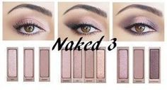Do you own a Naked 3 palette and want ideas on which make up to make? Here are three t . - Do you own a Naked 3 palette and want ideas on which make up to make? Here are three t … – - Make Up Palette, Naked 3 Palette Looks, Makeup Inspo, Makeup Inspiration, Makeup Tips, What Is Makeup, Carnival Makeup, Beauty Make-up, Eye Makeup Steps