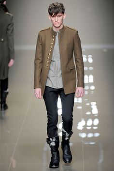 Burberry Prorsum Fall 2010 Menswear Fashion Show: Complete Collection - Style.com