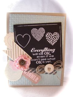 Everything Will Be Ok by Robin Lee - Cards and Paper Crafts at Splitcoaststampers