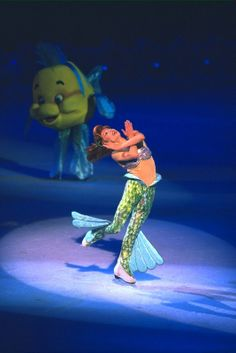 Went to a Disney on Ice show today :) I <3 Ariel!