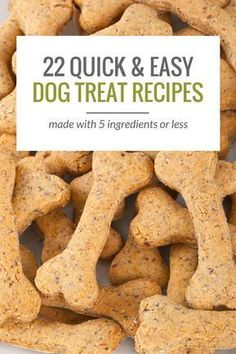 Healthy Dog Treats 22 Simple Dog Treat Recipes With 5 Ingredients or Less. - Looking to make some homemade dog treats? Here's 25 simple dog treat recipes, all made with 5 ingredients or less. From grain free treats to frozen Puppy Treats, Diy Dog Treats, Healthy Dog Treats, Healthy Teeth, Treats For Puppies, Homade Dog Treats, Puppies Gif, Dog Treats Grain Free, Best Treats For Dogs