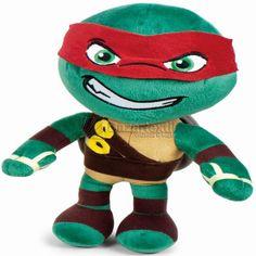 Peluche Tortugas Ninja Raphael