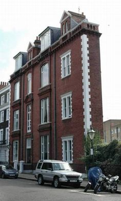 Thin House  Though there are quite a few thin houses exist around the globe, this particular Thin House is located in London, UK.