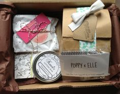 Dottie Box Review - August 2013 - Handmade Subscription Box