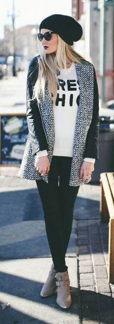 Comfy Beanie Outfit
