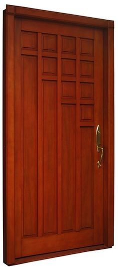 nice paneling idea that could be used on cupboard doorsThe Doors, Art Crafts, Entry Doors, Custom Doors, Craftsman Style, Costumes Woodworking, Crafts Custom, Custom Woodworking, Wood Doors