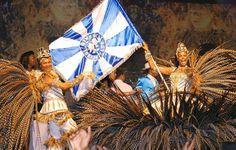 carnaval brasileiro - SP , mestre sala e porta bandeira