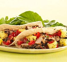 Put Away the Salt Shaker: Pork Tacos with Pineapple Salsa (via Parents.com)