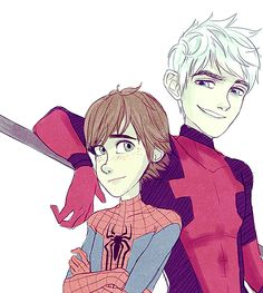 http://hope-for-snow.tumblr.com/post/96411947901/amazing-spiderman-au-with-hiccup-as-peter-jack
