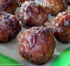 Asian: Pineapple Teriyaki Meatballs/