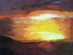 Puesta de sol ( Dailos Paniagua )
