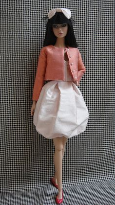 OOAK fashion for Poppy Parker Misaki Nuface dolls par lulumaygang