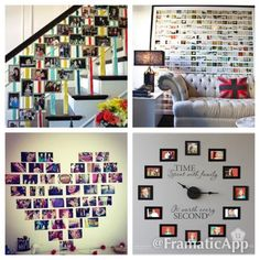 Wondering what to do with all those Photo booth pictures? Why not try some of these creative and unique ideas!