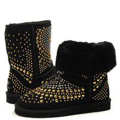 Real UGG Boots For Cheap 3042 Womens Jimmy Choo Boots Mandah Black