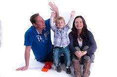 Franka, Phinus en Jem vormden een gelukkig gezin