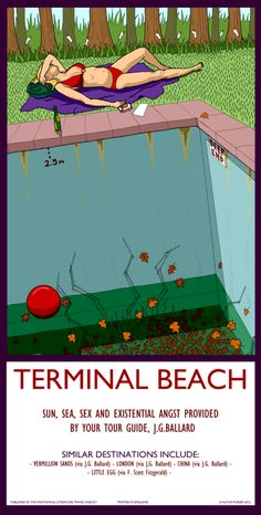 31. Terminal Beach - Autun Purser Illustration - I want this framed for my office!