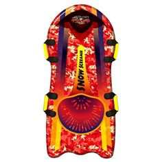 Other Skiing, Snowboarding Honest Wham-o Snow Boogie Animal Skiing Ski Sled Soft Durable Foam New Wide Selection;