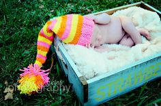 Knitted Elf Baby Beanie Up to 12 Months by EternalLightShop, $15.00