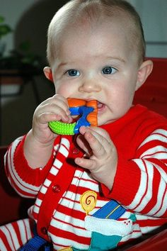 wikiHow to Soothe a Teething Baby -- via wikiHow.com