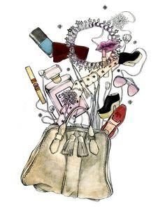 make-up illustration