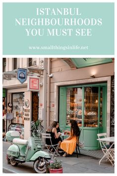 Istanbul neighbourhoods you must see! Meet another interesting side of Istanbul. Istanbul Travel, Rome Travel, Europe Travel Tips, Asia Travel, Travel Guide, Cozy Cafe, Coffee Places, Vintage Cafe, Celebrity Travel